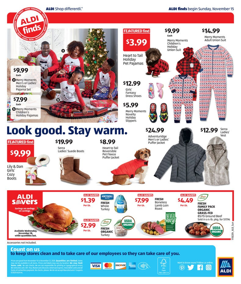 Aldi Ad November 18th page 4 of 4