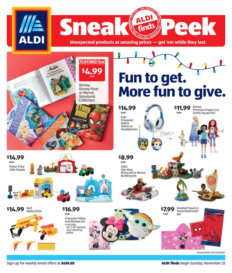 Aldi Ad November 25th 2020 Page 1 of 4