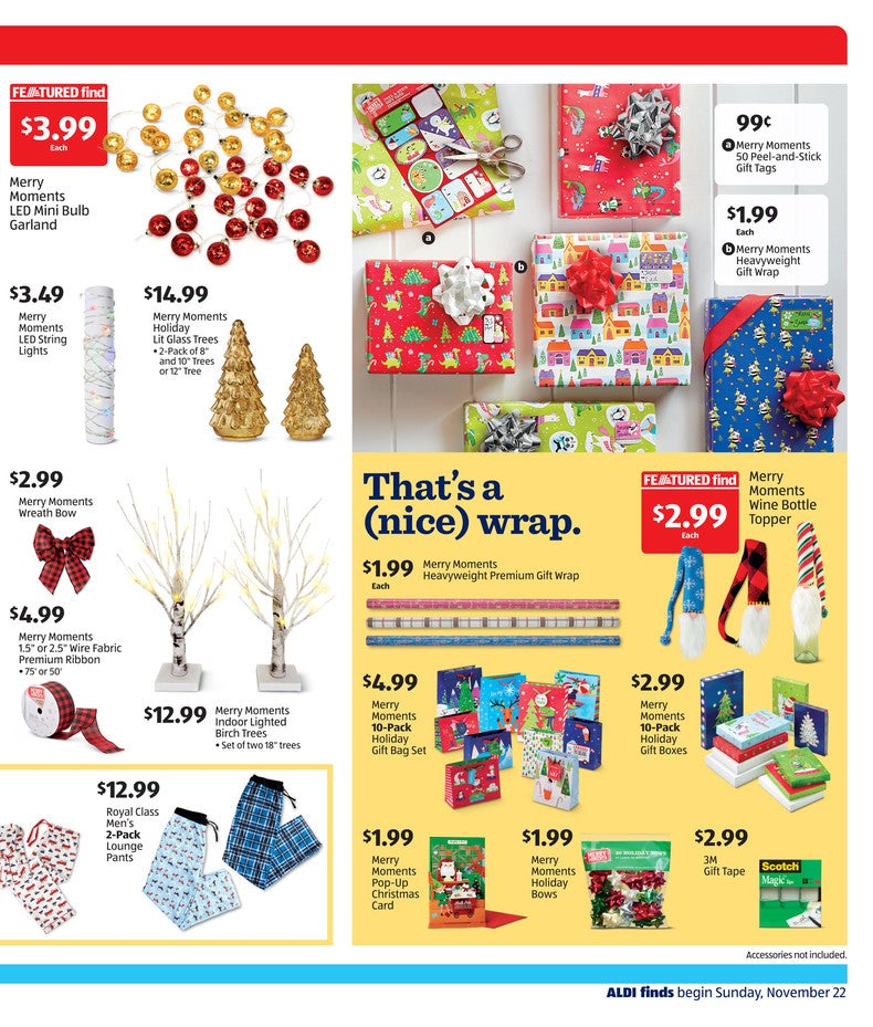 Aldi Ad November 25th 2020 Page 3 of 4