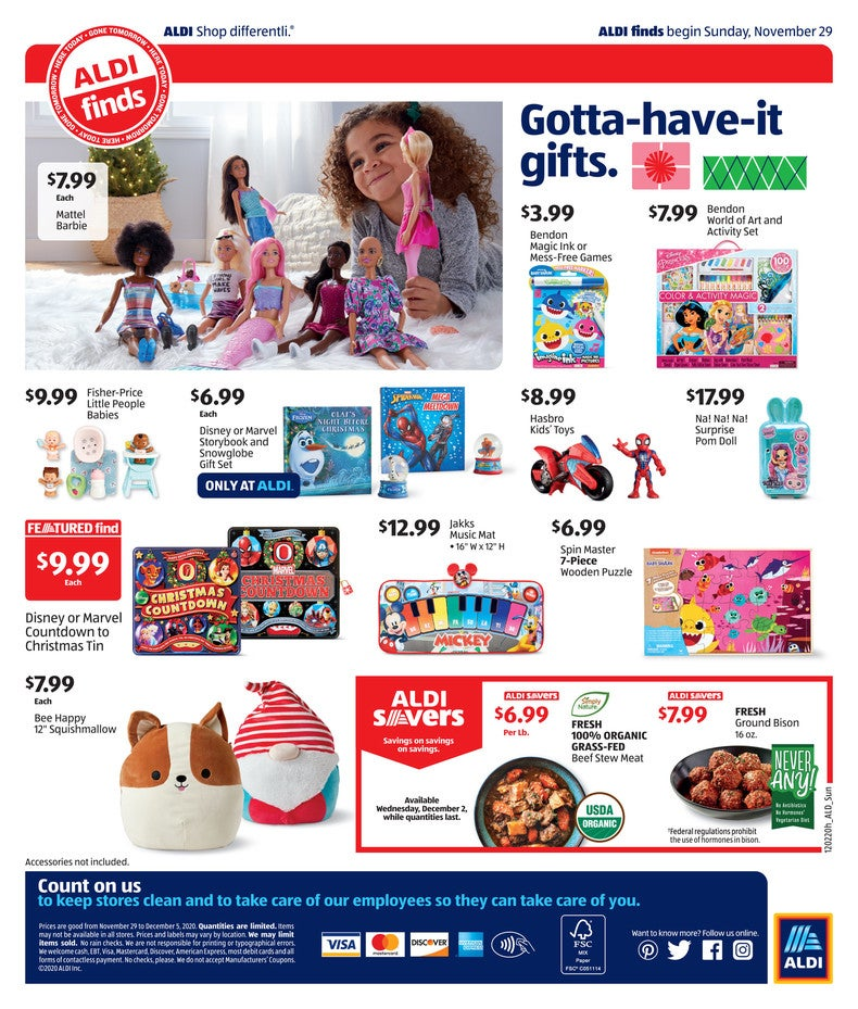 Aldi Ad December 2nd 2020 Page 4 of 4