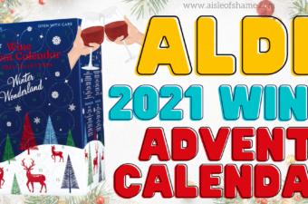 2021 aldi wine advent calendar