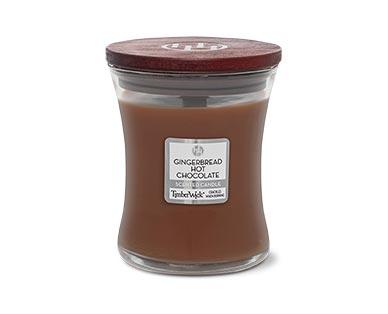 aldi timberwick candle in gingerbread hot chocolate