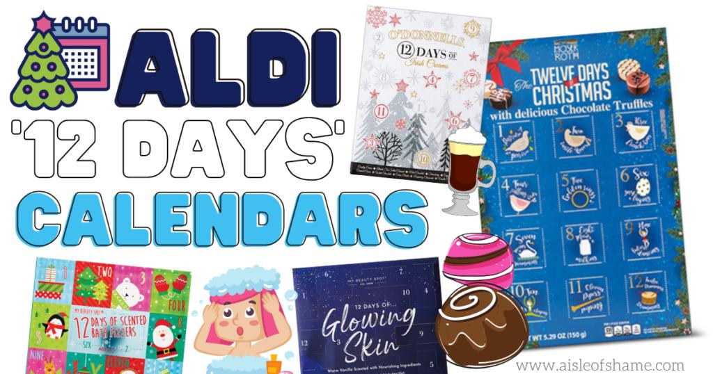 aldi 12 days calendars