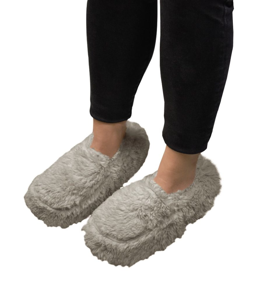 Visage Hot Or Cold Slippers Grey In Use