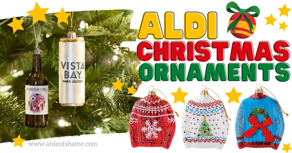 Aldi Christmas Ornaments