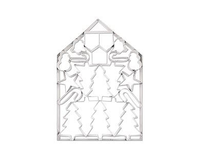 giant cookie cutter - gingerbread house