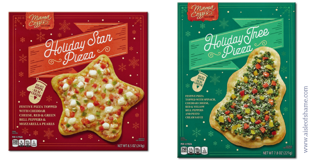 holiday pizzas