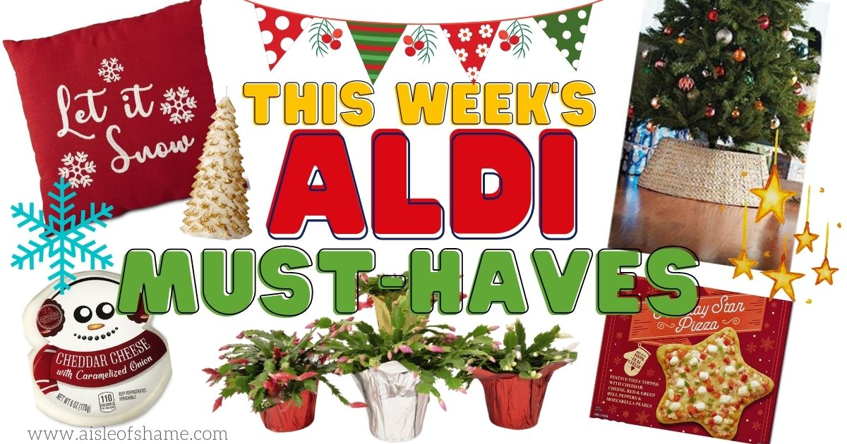 Aldi must haves for the week of december 2nd 2020