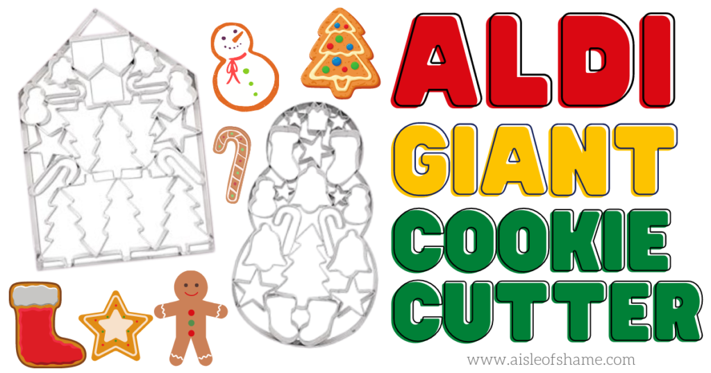 aldi giant cookie cutter