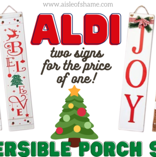 holiday porch signs