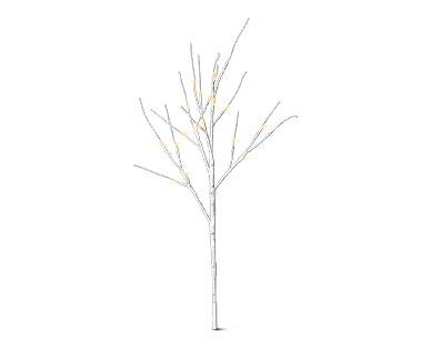 aldi lighted birch trees