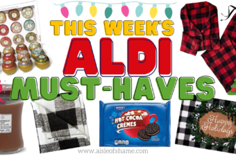 aldi must haves november 25th