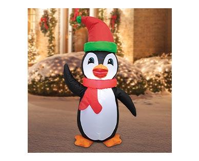 aldi penguin inflatable