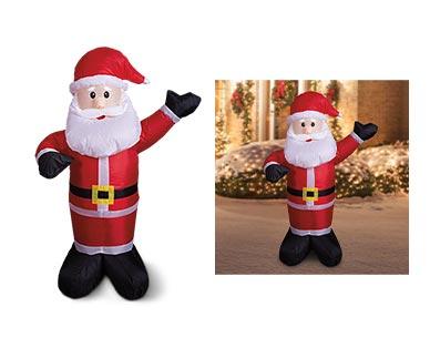 Aldi santa inflatable
