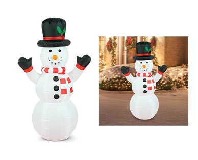 aldi snowman inflatable
