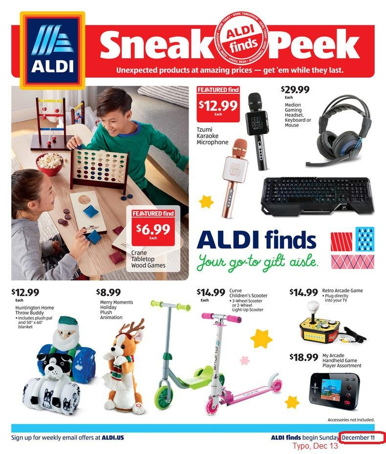 Aldi ad for december 16th 2020 page 1 of 4