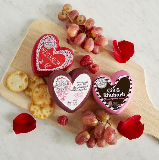 valentine's day cheese
