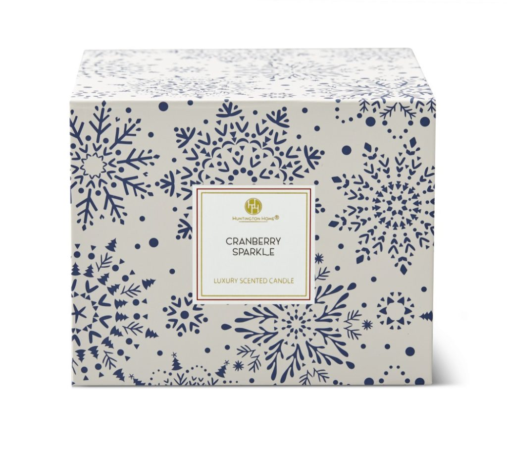 Huntington Home Luxury Scented Candle with Gift Box from Aldi