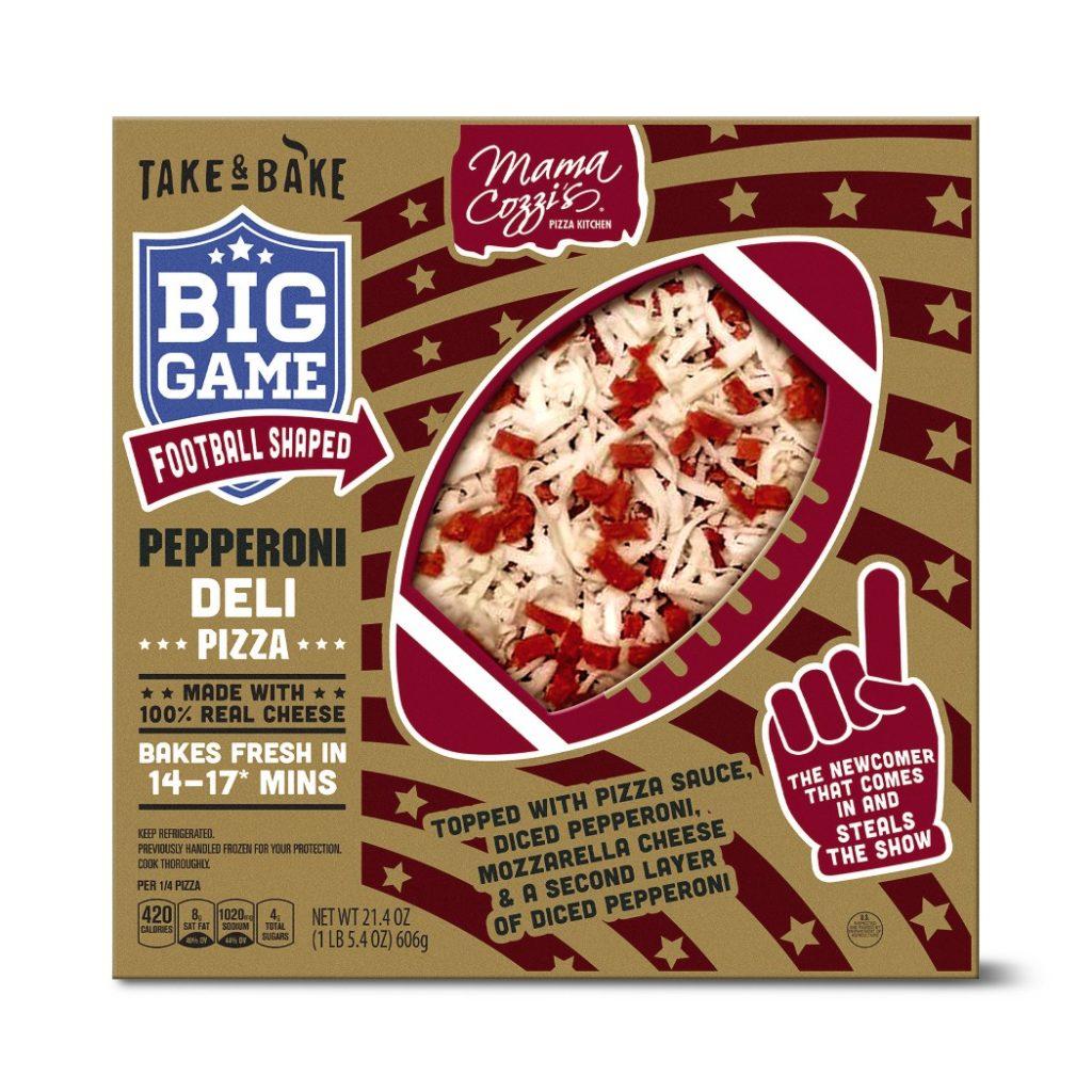 aldi football pizza