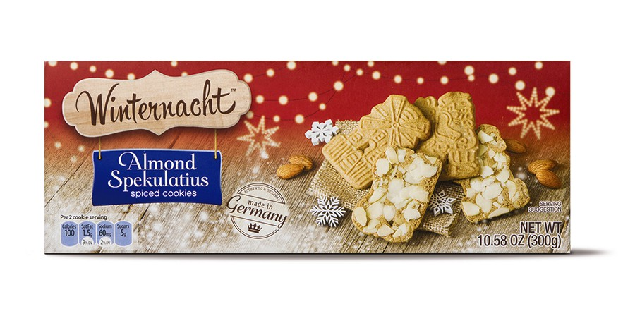 Winternacht Almond Spekulatius from Aldi