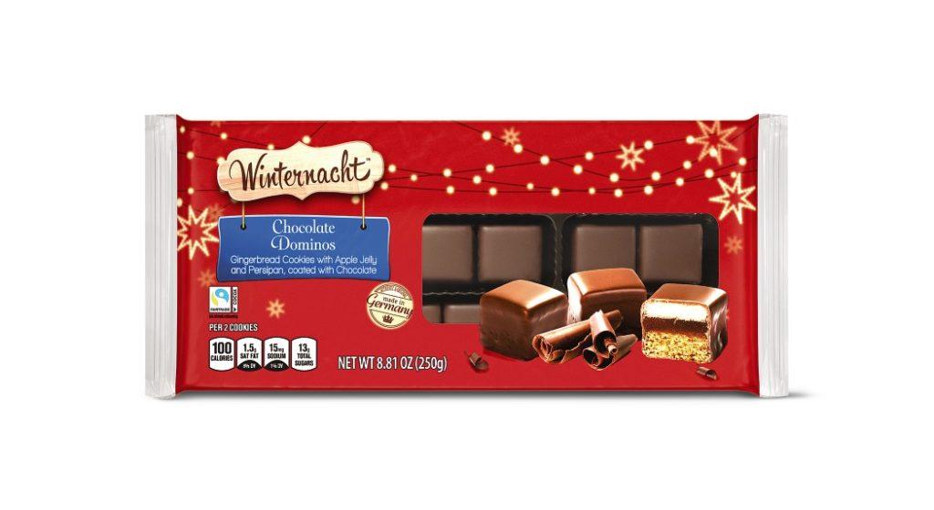 Winternacht Chocolate Domino Cubes from Aldi