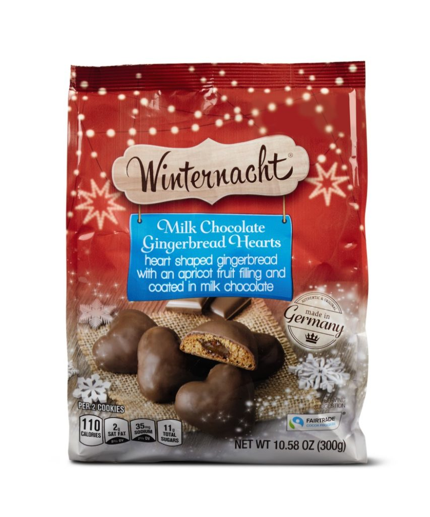 Winternacht Chocolate Gingerbread Assortment from Aldi