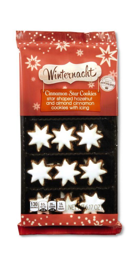 Winternacht Cinnamon Star Cookies from Aldi