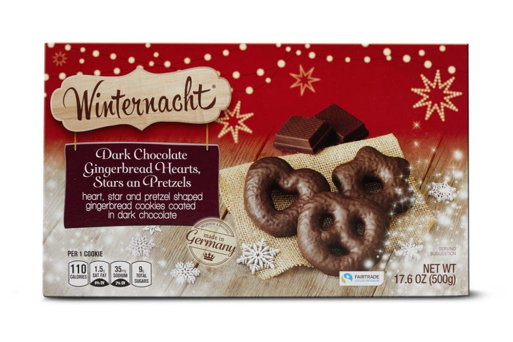 Winternacht Gingerbread Hearts from Aldi