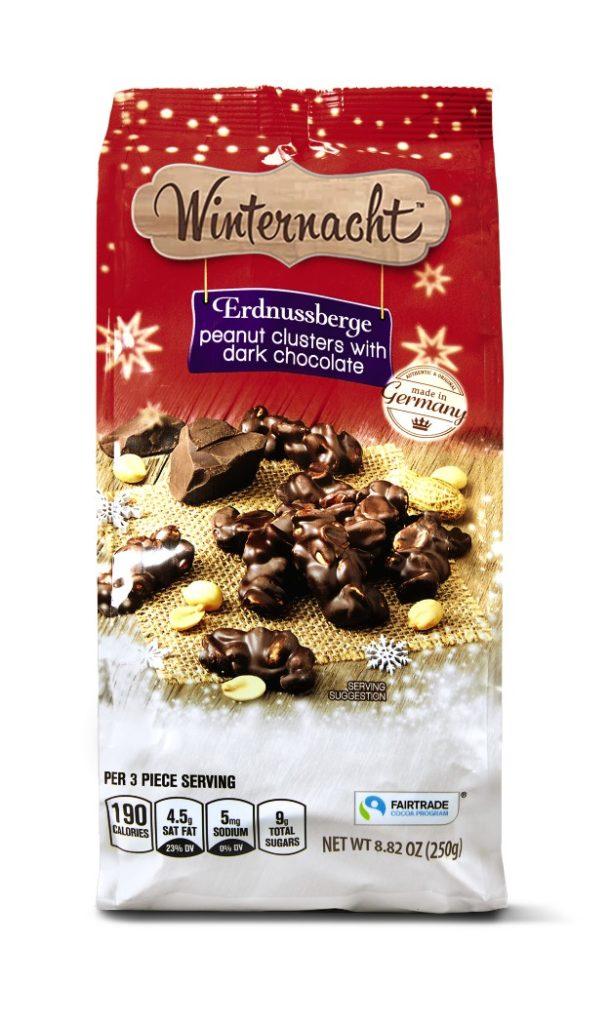 Winternacht Peanut Clusters Erdnussberge from Aldi