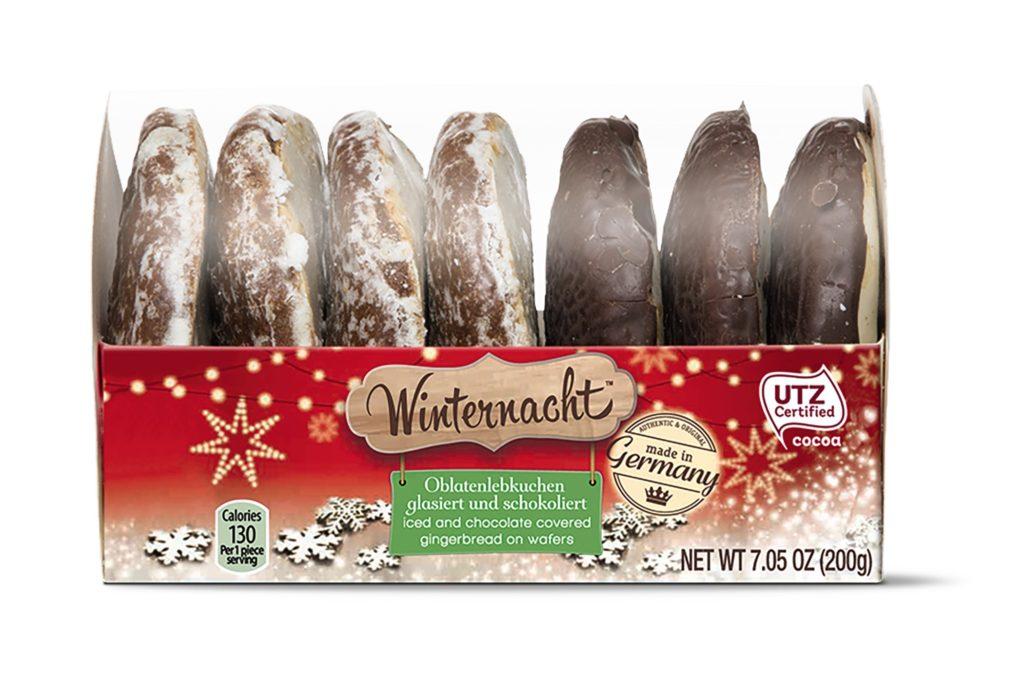 Winternacht Oblatenlebkruchen Soft Gingerbread from Aldi
