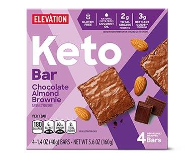 aldi keto bars chocolate almond brownie