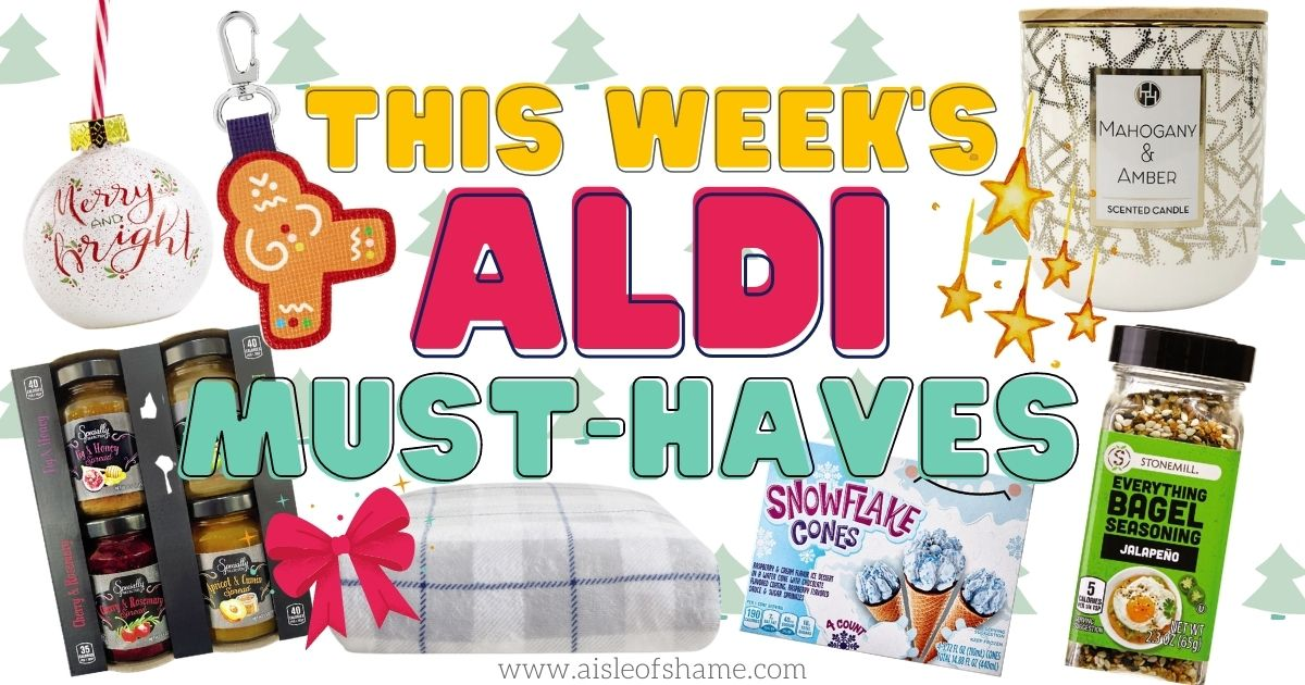 aldi must haves for december 16th 2020