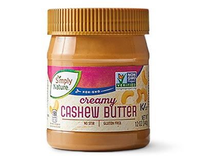 simply nature cashew butter