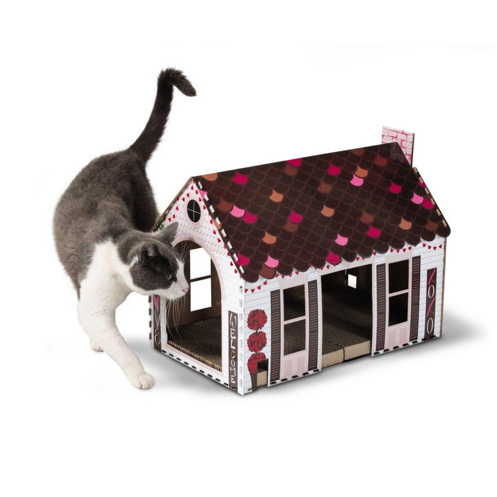 valentine cat houses