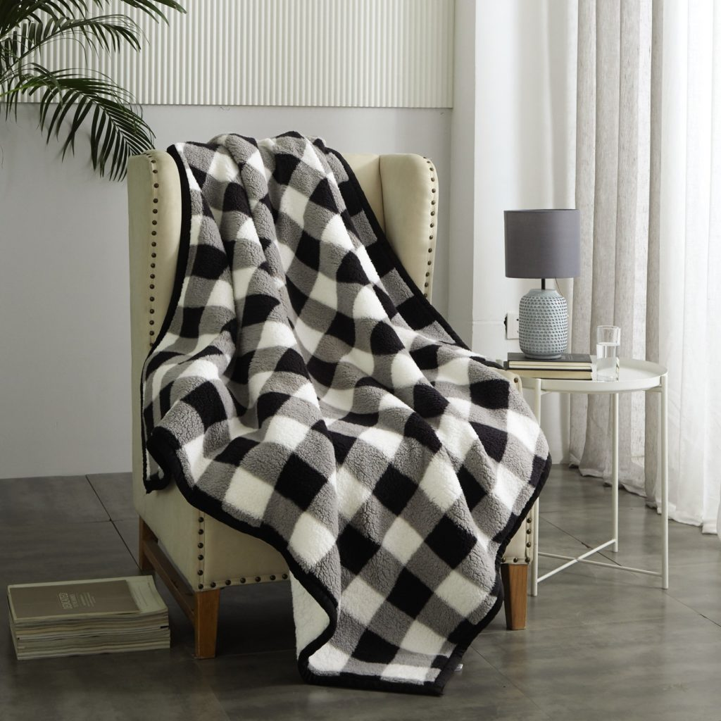 feather soft throws