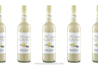 vanilla bean wine