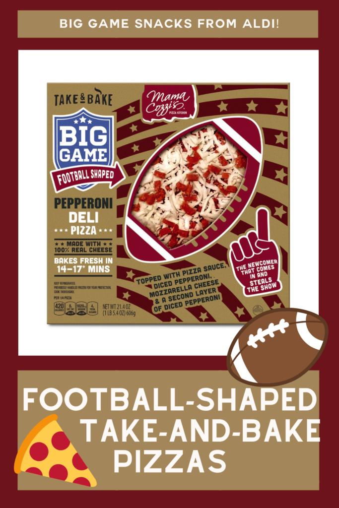 aldi football shaped pizzas