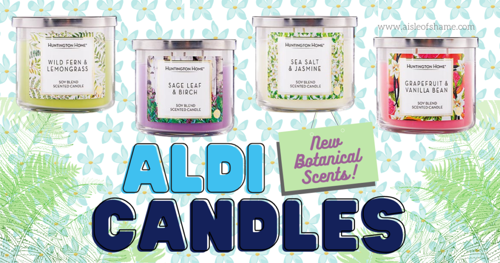 aldi january candles