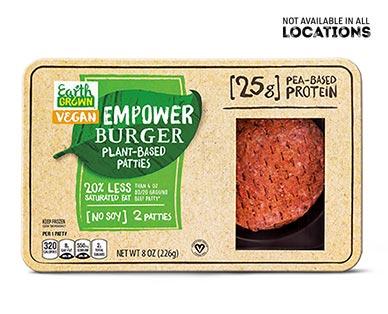 empower burger at aldi