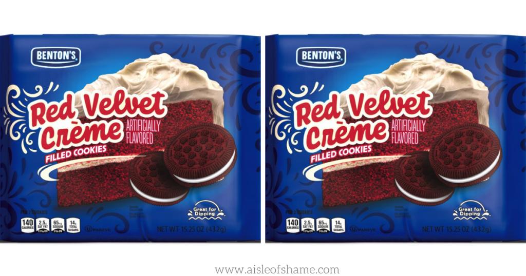 red velvet cookies at aldi