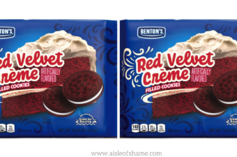 red velvet cookies at aldi