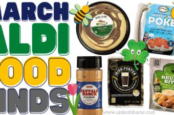 march aldi food finds