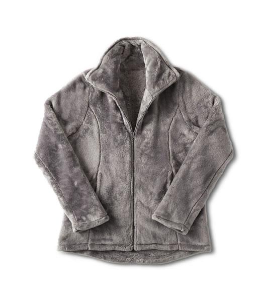 aldi plush jacket
