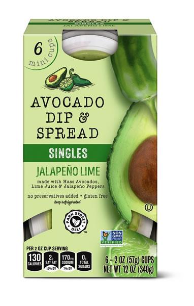 jalapeno lime avocado dip