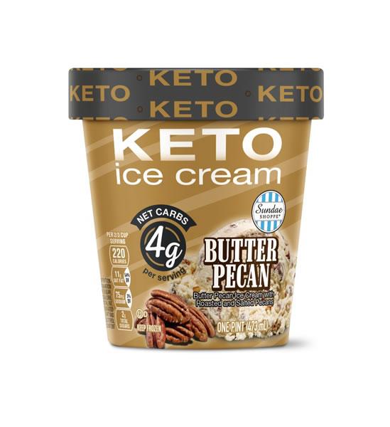 butter pecan keto ice cream