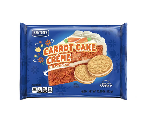 carrot cake cookies are one of the March aldi food finds
