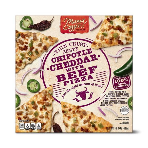 chipotle cheddar pizza at aldi