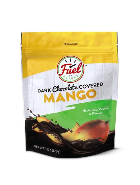 chocolate covered mango