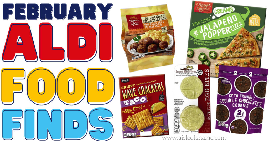 february aldi food finds
