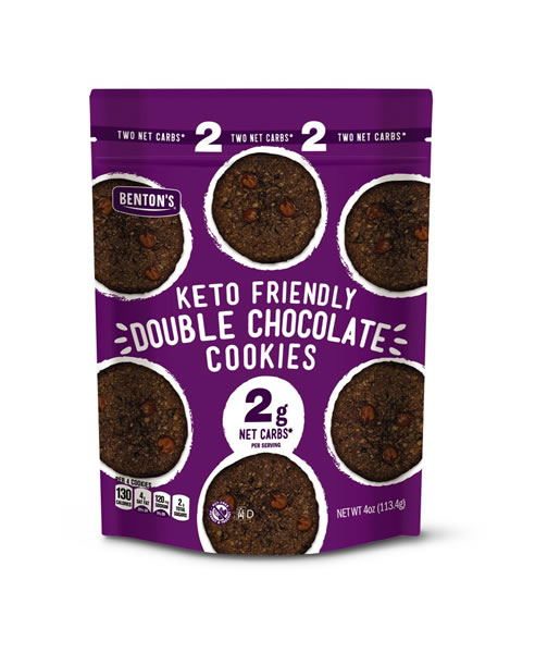 keto friendly double chocolate chip cookies